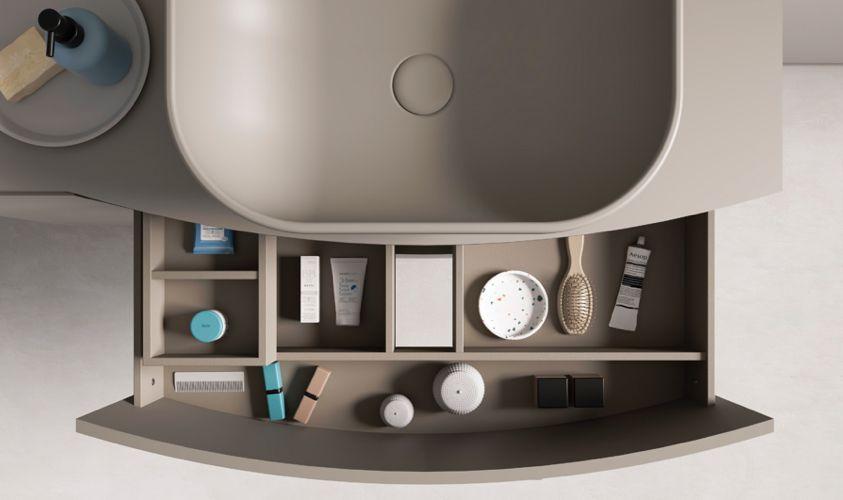 mueble compartimentado